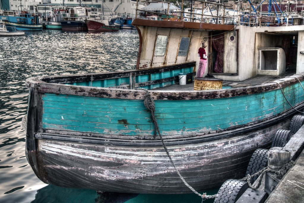 Hout Bay Fishing Boats, South Africa